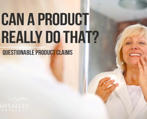 skin care products that don't do much