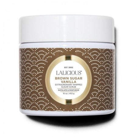 Experience a body treatment like no other. Pure Brown Sugar Cane crystals gently slough away dry skin cells to reveal a youthful and even skin tone. Cold-pressed Coconut and Sweet Almond Oils nourish and deeply moisturize, leaving skin deliciously soft. Discover luminous skin from head to toe with this rich soufflé of vanilla and caramel.