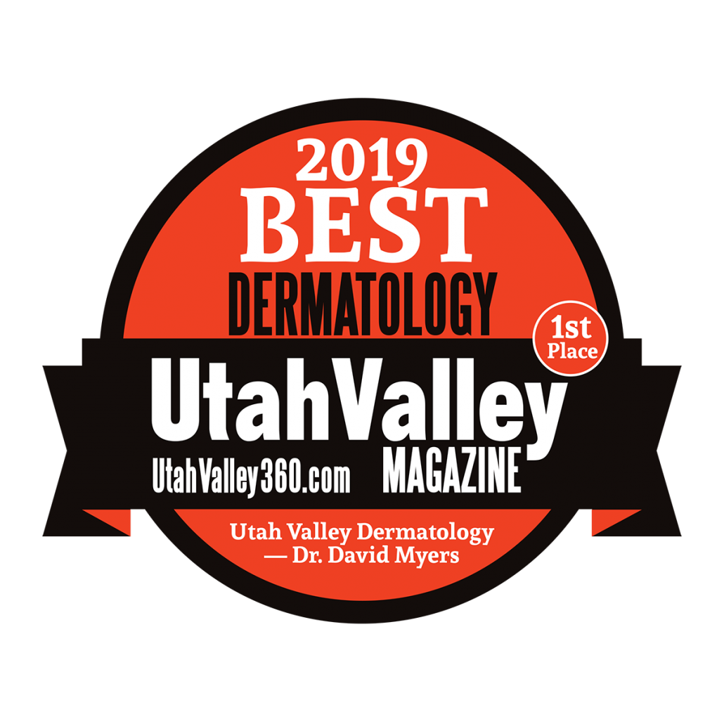 2019 Best Dermatology - Utah Valley Magazine - Uvderm.com