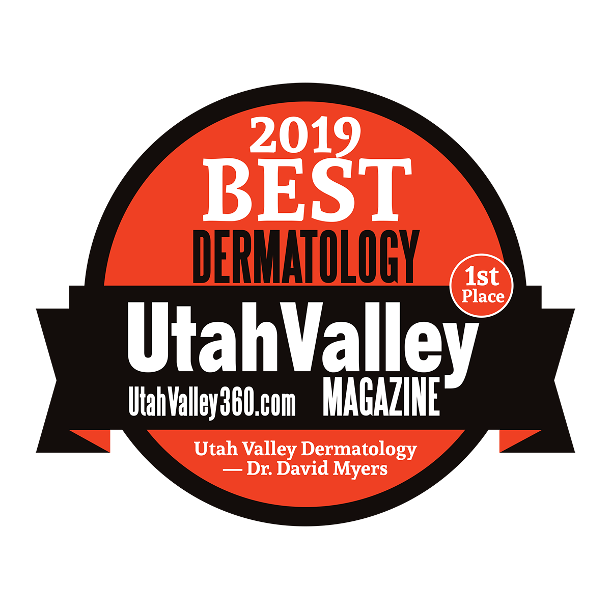 2019 Best Dermatology - Utah Valley Magazine - Uvderm.com
