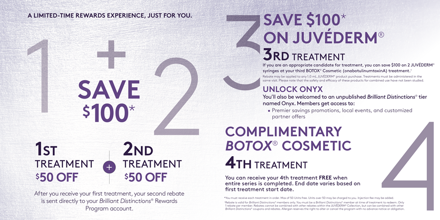 Free Botox Rewards Program - Utah Valley Dermatology in Utah County